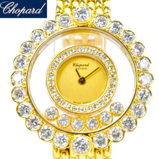 ショパール(Chopard)のショパール 18k YG レディース クォーツ ハイブランド 腕時計 ウォッチ(腕時計)