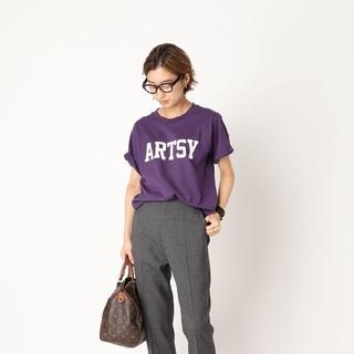 アパルトモンドゥーズィエムクラス(L'Appartement DEUXIEME CLASSE)の新品未使用タグ付き、2021AW購入、ACHENEARTSYTシャツ(Tシャツ(半袖/袖なし))