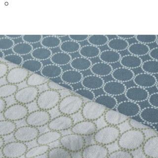 ミナペルホネン(mina perhonen)のミナペルホネン タンバリン ブルー はぎれ 5×9(生地/糸)