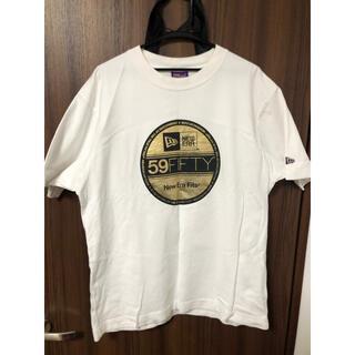 ニューエラー(NEW ERA)の激レア廃盤品☆ ニューエラ Tシャツ ビックロゴ キャップ(Tシャツ/カットソー(半袖/袖なし))