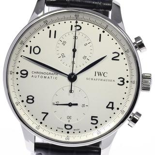 インターナショナルウォッチカンパニー(IWC)の☆良品 IWC ポルトギーゼ IW371446 メンズ 【中古】(腕時計(アナログ))