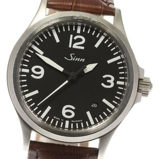 シン(SINN)のジン  デイト 556 自動巻き メンズ 【中古】(腕時計(アナログ))