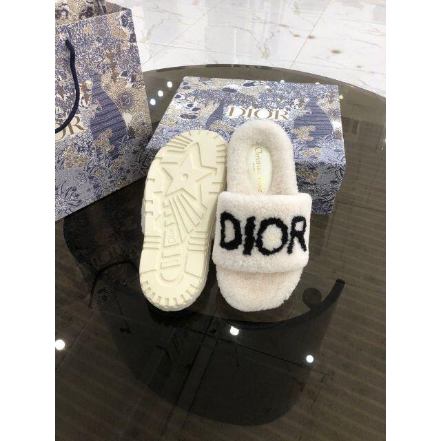 Dior サンダル インテリア/住まい/日用品のソファ/ソファベッド(ソファカバー)の商品写真