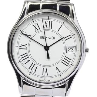 ティファニー(Tiffany & Co.)のティファニー  デイト  クォーツ メンズ 【中古】(腕時計(アナログ))