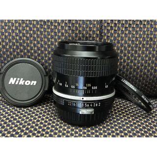 ニコン(Nikon)の1100o 分解清掃済 Nikon NEW Nikkor 28mm F2 非Ai(レンズ(単焦点))