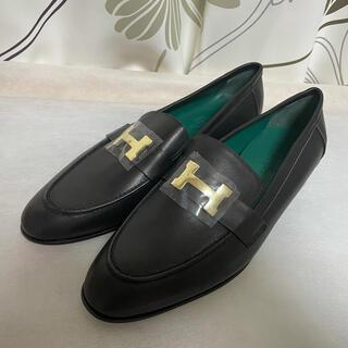 エルメス(Hermes)の未使用 エルメス Hermès モカシン 《パリ》 パンプス サイズ38(ローファー/革靴)