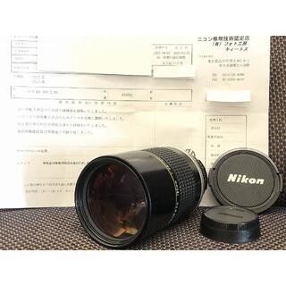 ニコン(Nikon)の1274o キィートスOH済 Nikon Ai-s 180mm F2.8 ニコン(レンズ(単焦点))