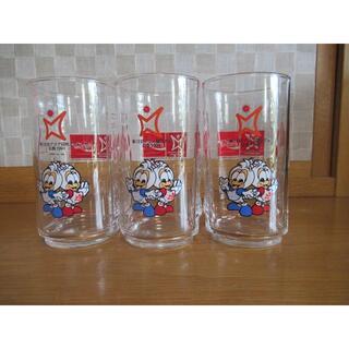 コカコーラ(コカ・コーラ)のenjoy Coca-Cola ポッポ&クックグラス 6ケ ノベルティグッズ(グラス/カップ)