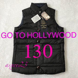 GO TO HOLLYWOOD - 【未使用タグ付き】GO TO HOLLYWOOD ダウンベスト 130