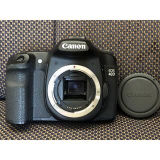 キヤノン(Canon)の1502o 現状特価 Canon EOS 40D キャノン ボディ JUNK(デジタル一眼)