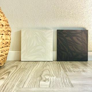 インテリアパネル 壁飾り アジアン ボタニカル 植物 ブラウン ホワイト(ウェルカムボード)
