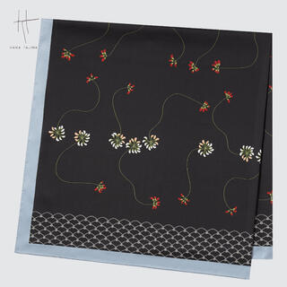 ユニクロ(UNIQLO)のユニクロ ハナタジマ スカーフ 新品(バンダナ/スカーフ)