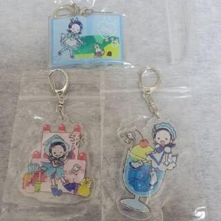 おジャ魔女どれみ 東京駅 キャラクターストリート グラフアート あいこ アクキー(キーホルダー)