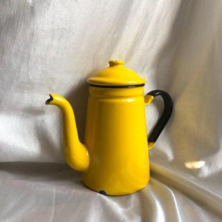 イケア(IKEA)のヴィンテージ  ホーローポット(調理道具/製菓道具)