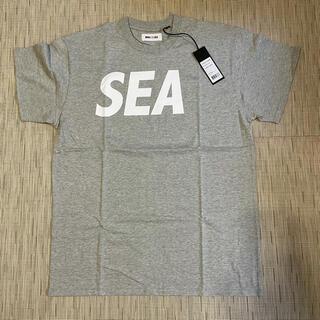 シー(SEA)のWIND AND SEA Tシャツ グレー Lサイズ 新品未使用(Tシャツ/カットソー(半袖/袖なし))