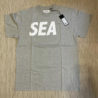 SEA - WIND AND SEA Tシャツ グレー Lサイズ 新品未使用