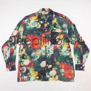 ★BAHAMAS★ 総柄 花柄 長袖シャツ 開襟シャツ オープンカラーシャツ(シャツ)