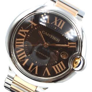 Cartier - カルティエ Cartier バロンブルーLM 腕時計 メンズ【中古】