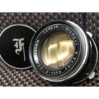 オリンパス(OLYMPUS)の1420o 整備済 保証付 Olympus G.Zuiko  40mm F1.4(レンズ(単焦点))