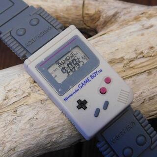 ニンテンドウ(任天堂)の【10月限定セール】未使用品)激レア!1992年 ニンテンドー ウォッチボーイ(腕時計(デジタル))