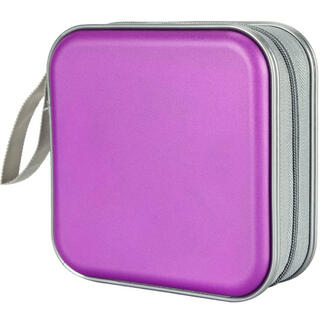 CDケース DVDケース 紫 パープル
