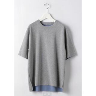 ユナイテッドアローズ(UNITED ARROWS)の【新品未使用】ユナイテッドアローズ デオセル ダブルフェイス ク半袖 Tシャツ(Tシャツ/カットソー(半袖/袖なし))