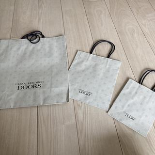 ドアーズ(DOORS / URBAN RESEARCH)の紙袋 ショップ袋 アーバンリサーチドアーズ ショッパー(ショップ袋)