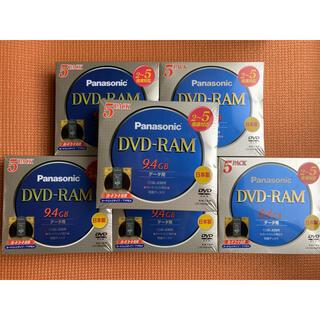 パナソニック(Panasonic)のPanasonic DVD-RAM ディスク LM-HB94MP5 6個セット(PC周辺機器)