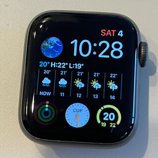 アップル(Apple)のApple Watch 4 GPSモデル 40mm(その他)