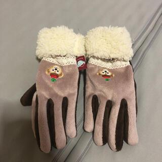ダッフィー(ダッフィー)のディズニーダッフィー手袋(手袋)