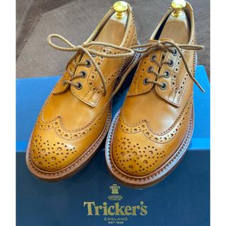 トリッカーズ(Trickers)の【極美品】tricker's エイコン バートン UK7(ドレス/ビジネス)