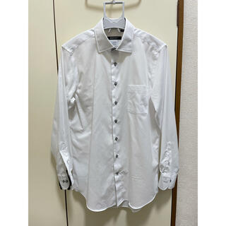 スーツカンパニー(THE SUIT COMPANY)の紳士ワイシャツ 白  2枚セット アイロン要らず(シャツ)