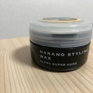ナカノ(NAKANO)の最終値下げ!【ナカノ スタイリングワックス 6】ウルトラスーパーハード(ヘアワックス/ヘアクリーム)
