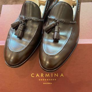 Crockett&Jones - 【使用数回】CARMINA カルミナ タッセルローファー 29日まで値引