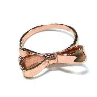 ケイトスペードニューヨーク(kate spade new york)のケイトスペード リング 7 - 金属素材(リング(指輪))