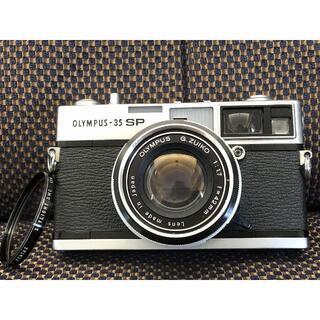 オリンパス(OLYMPUS)の1456o 整備済 Olympus 35 SP ZUIKO 42mm F1.7(フィルムカメラ)