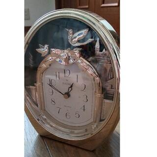 SEIKO - SEIKO(セイコー) ✨鳥揺れる秒針 置時計
