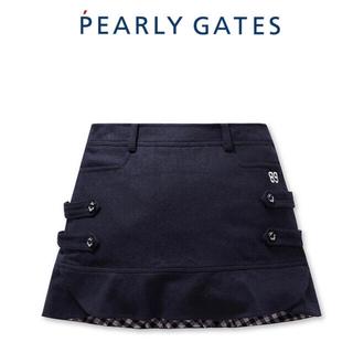 パーリーゲイツ(PEARLY GATES)のパーリーゲイツ  レディース 韓国スカート 、新品、正規品(ウエア)