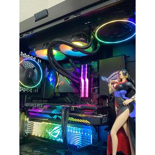 エイスース(ASUS)の 11世代 自作PC ROG STRIX RTX3060(デスクトップ型PC)