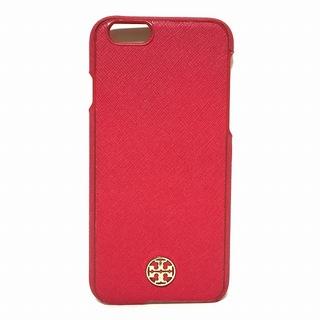 トリーバーチ(Tory Burch)のトリーバーチ 携帯電話ケース - レッド(モバイルケース/カバー)