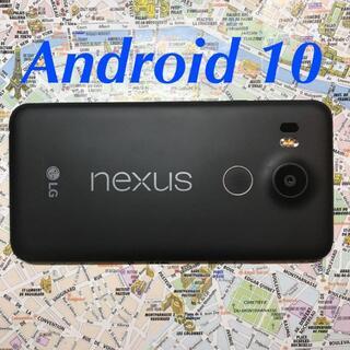 LG Electronics - 楽天OK Nexus5X Android10 32GB SIMフリー 美品