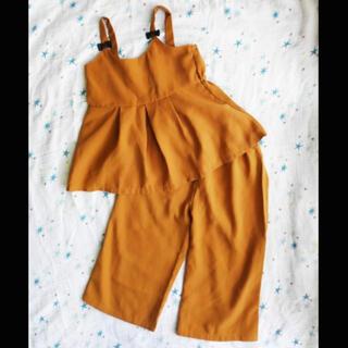 シマムラ(しまむら)のしまむら セットアップ 100 女の子 ズボン キャミ(その他)