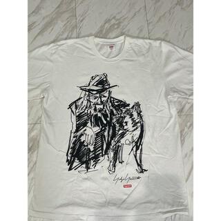 シュプリーム(Supreme)のSupreme Yohji Yamamoto  Tee (Tシャツ/カットソー(半袖/袖なし))