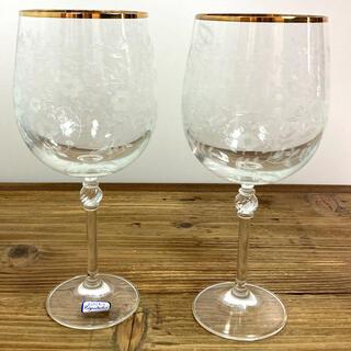 ボヘミア クリスタル(BOHEMIA Cristal)のボヘミアンクリスタル  ワイングラス(グラス/カップ)