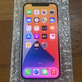 iPhone12 64GB ホワイト SIMロック解除済み(スマートフォン本体)