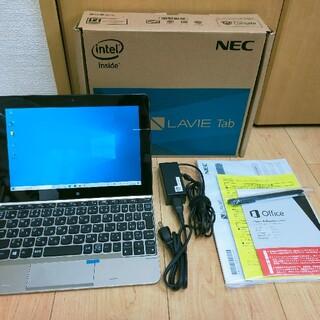 エヌイーシー(NEC)のNEC LaVie Tab TW710 Windows10 Office2013(タブレット)