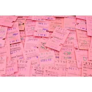 【ピンク好き限定】★海外 イギリス ヴィンテージ 鉄道 チケット カード 25枚(印刷物)