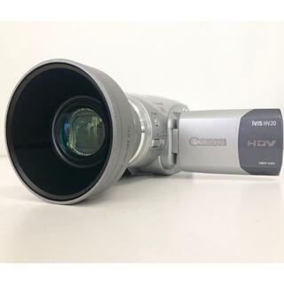 キヤノン(Canon)のCanon ビデオカメラ iVIS HV20(ビデオカメラ)