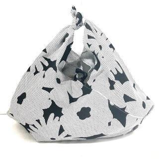 ソウソウ(SOU・SOU)のソウソウ ハンドバッグ新品同様  - 白×黒(ハンドバッグ)