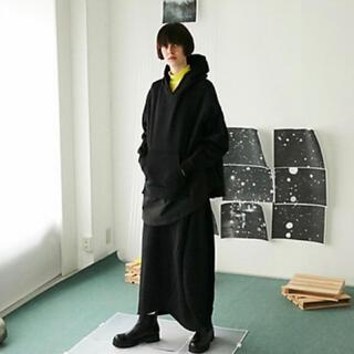 エンフォルド(ENFOLD)の美品 nagonstans ナゴンスタンス バックウォームスウェット&スカート(トレーナー/スウェット)